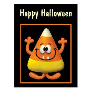 Monstre de bonbons au maïs carte postale