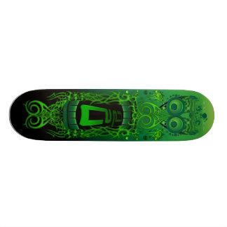 Monstre de vert de partie d'action plateaux de skateboards