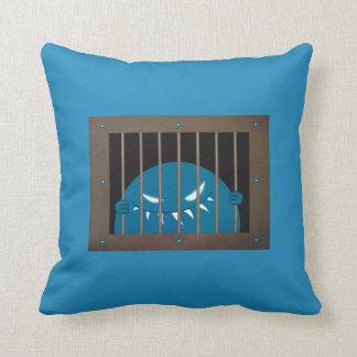 Monstre emprisonné de mal de cheville ouvrière oreillers