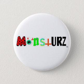 monstURZ 2 Inch Round Button
