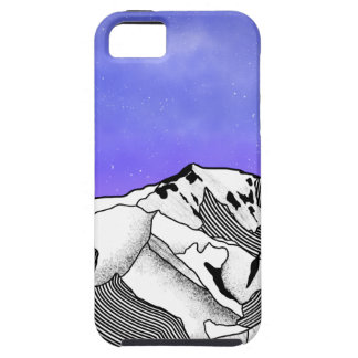 Mont Blanc evening landscape iPhone 5 Case