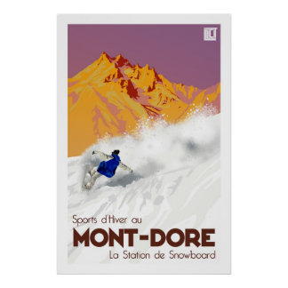 Mont Dore Poster