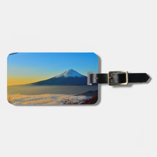 Mont Fujisan luggage tag