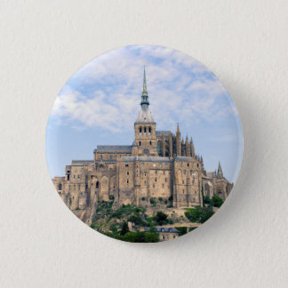 Mont Saint-Michel 2 Inch Round Button