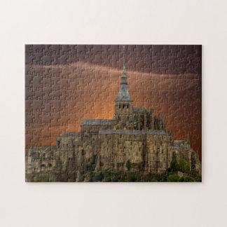 Mont-Saint-Michel Jigsaw Puzzle