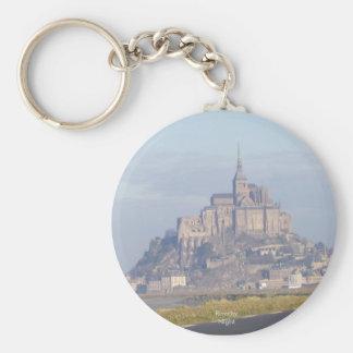 Mont Saint Michel Keychain