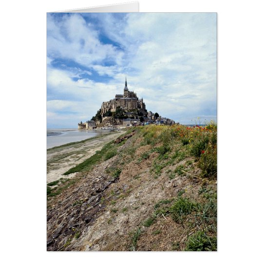 Mont-Saint-Michel, Normandy, France Card