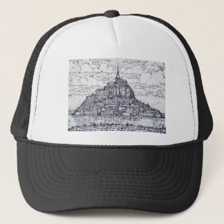 mont saint-michel trucker hat