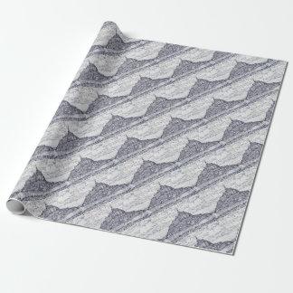 mont saint-michel wrapping paper