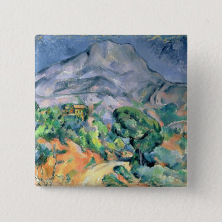 Mont Sainte-Victoire, 1900 2 Inch Square Button