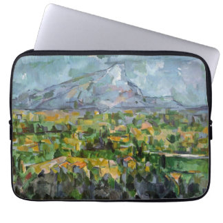 Mont Sainte-Victoire by Cezanne Laptop Sleeve