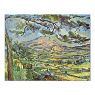 Mont Sainte-Victoire By Paul Cézanne (Best Quality Card