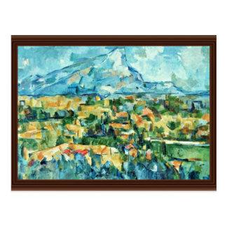 Mont Sainte-Victoire By Paul Cézanne (Best Quality Postcard