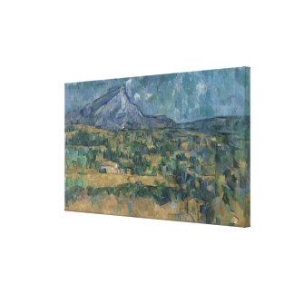 Mont Sainte-Victoire Canvas Print