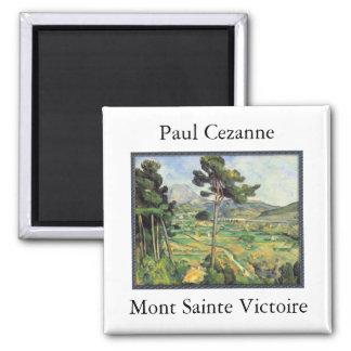 Mont Sainte Victoire - Paul Cezanne Magnet