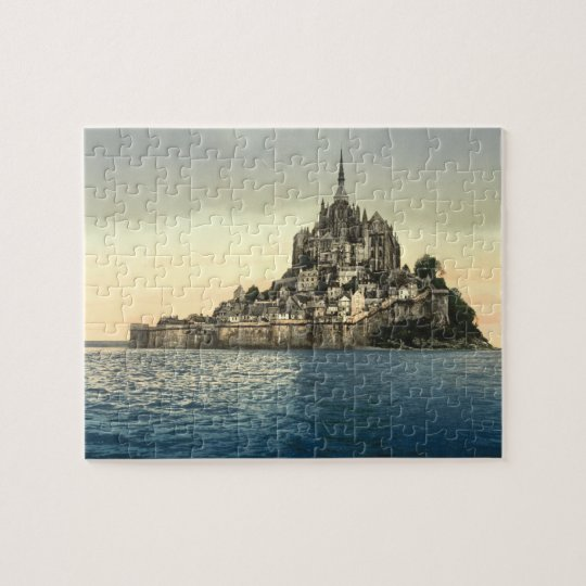 Mont St Michel II, Normandy, France Jigsaw Puzzle