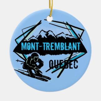 Mont Tremblant Quebec ski ornament