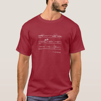Monta Loma Neighborhood Architectural Styles T-Shirt