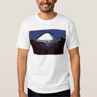 Montagne d'asphalte t-shirts