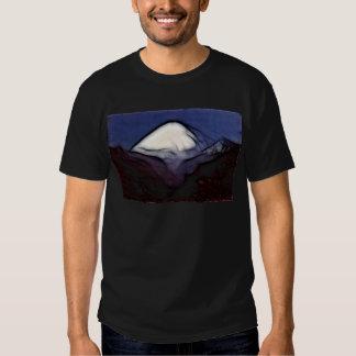 Montagne d'asphalte tee shirts