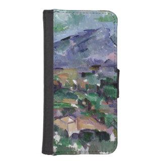 Montagne Sainte-Victoire, 1904-06 iPhone 5 Wallets