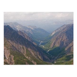 Montagnes de chaîne d'Alaska, Alaska, Etats-Unis Cartes Postales