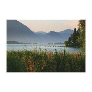 montagnes de paysage toiles