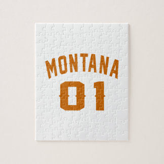 Montana 01 Birthday Designs Jigsaw Puzzle