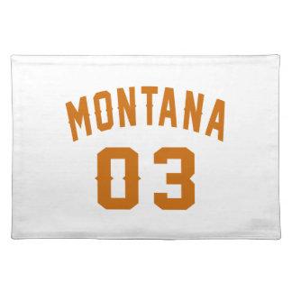 Montana 03 Birthday Designs Placemat