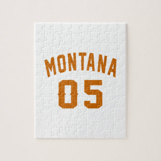 Montana 05 Birthday Designs Jigsaw Puzzle
