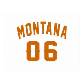 Montana 06 Birthday Designs Postcard