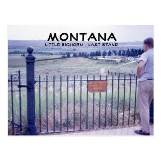 Montana 1964 Last Stand Postcard