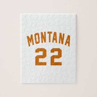 Montana 22 Birthday Designs Jigsaw Puzzle