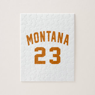 Montana 23 Birthday Designs Jigsaw Puzzle