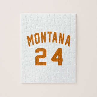 Montana 24 Birthday Designs Jigsaw Puzzle