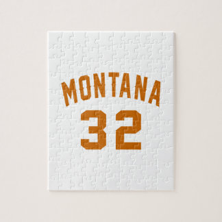 Montana 32 Birthday Designs Jigsaw Puzzle