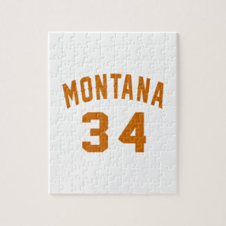 Montana 34 Birthday Designs Jigsaw Puzzle