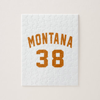 Montana 38 Birthday Designs Jigsaw Puzzle