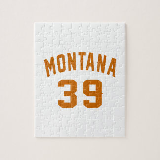 Montana 39 Birthday Designs Jigsaw Puzzle