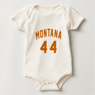 Montana 44 Birthday Designs Baby Bodysuit