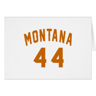 Montana 44 Birthday Designs Card