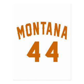 Montana 44 Birthday Designs Postcard