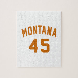Montana 45 Birthday Designs Jigsaw Puzzle