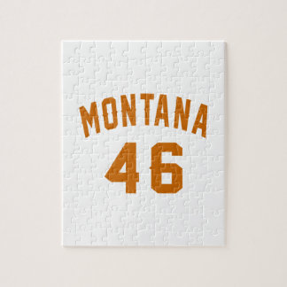 Montana 46 Birthday Designs Jigsaw Puzzle
