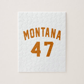 Montana 47 Birthday Designs Jigsaw Puzzle