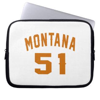 Montana 51 Birthday Designs Laptop Sleeve