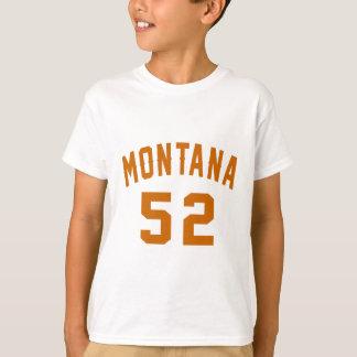 Montana 52 Birthday Designs T-Shirt