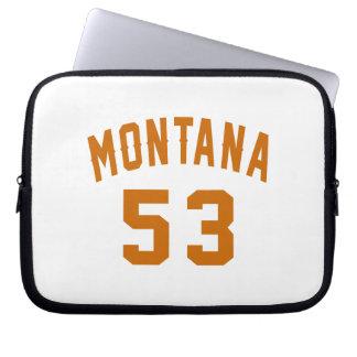 Montana 53 Birthday Designs Laptop Sleeve