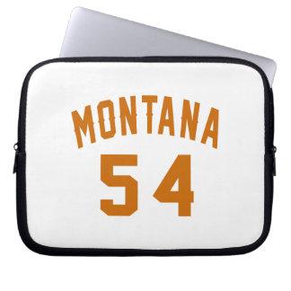Montana 54 Birthday Designs Laptop Sleeve