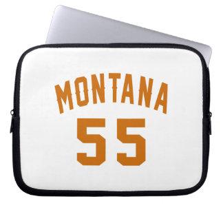 Montana 55 Birthday Designs Laptop Sleeve